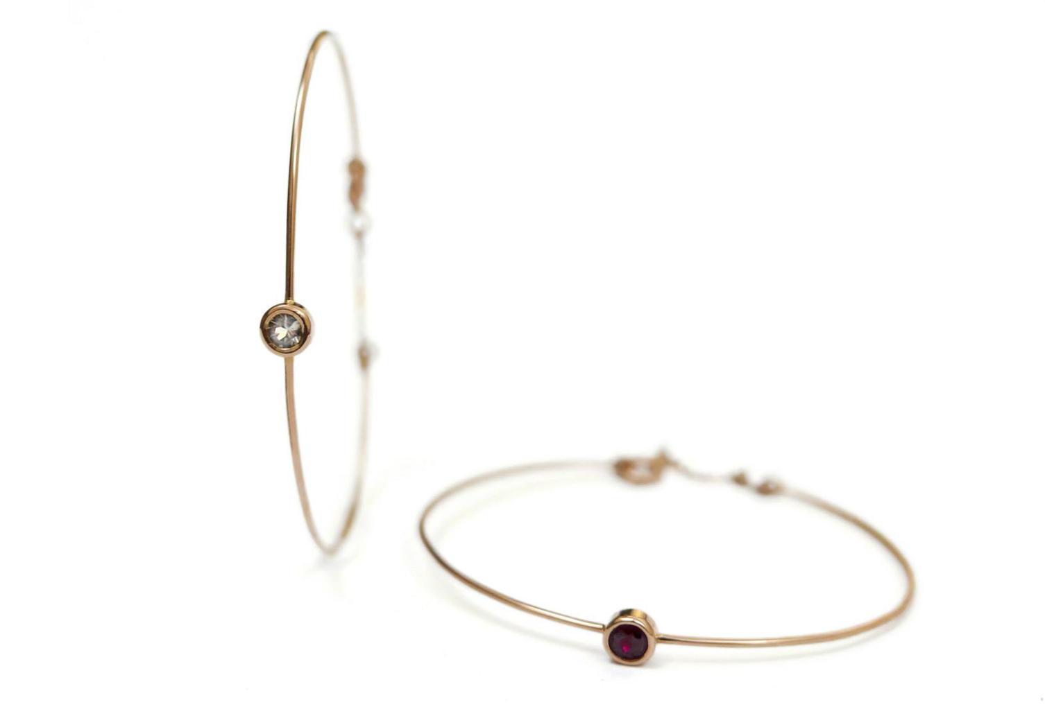Bracciale-in-oro-rosa-con-rubino-e-zaffiro-daniele-pifferi-gioielli