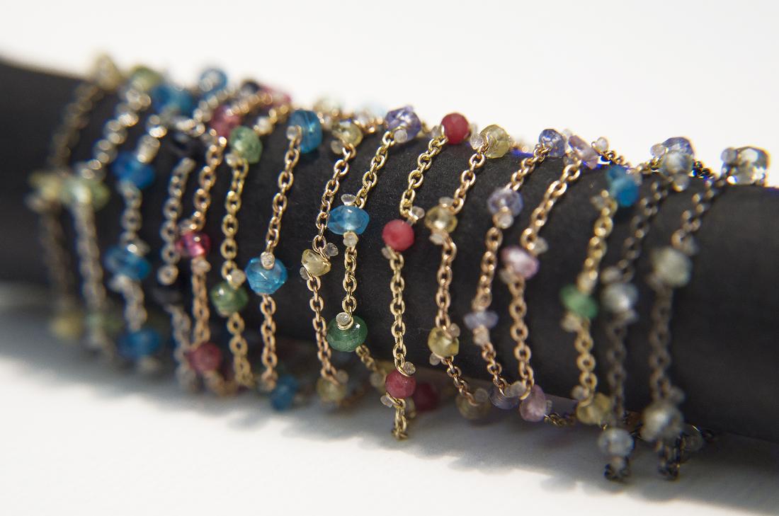 Linea Rugiada design Chiara Parra - Anellini presso daniele-pifferi-gioielli-bologna