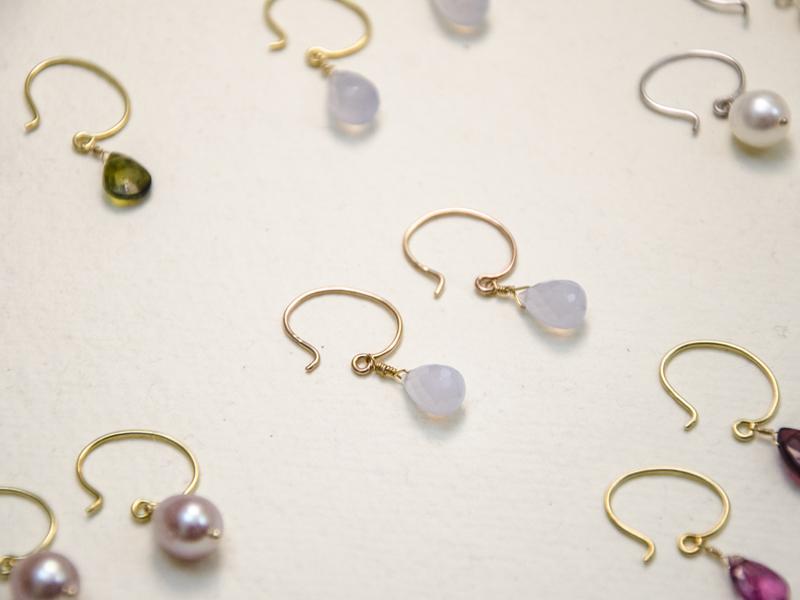 Orecchini Gemme di Loto - Collezione 2018 Pifferi gioielli contemporanei bologna centro